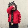 秋冬麻花围巾