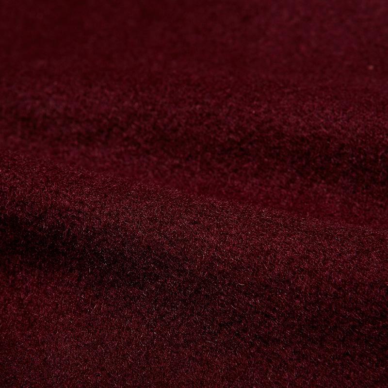 【清仓价】JDV男装 男士时尚拼接修身毛呢大衣外套 WCO5021DAR