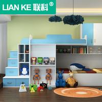 实木儿童床定做上下床双层床高低床子母床成人上下铺多定制功能床