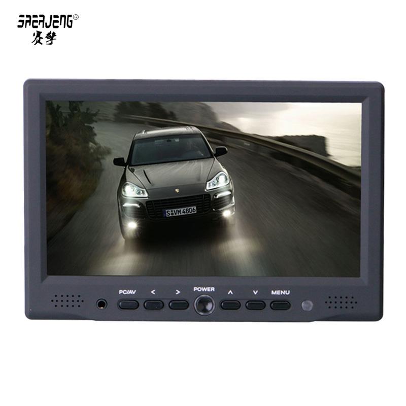 触摸屏7寸高清HDMI显示器高清7寸1080P显示器VGA/AV 电脑显示器