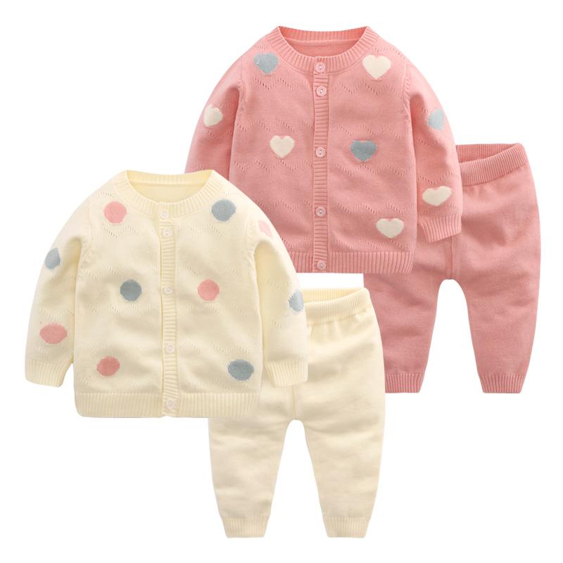 宝宝纯棉毛衣套装