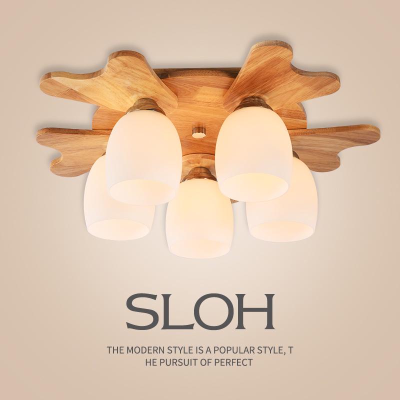 木制客厅灯