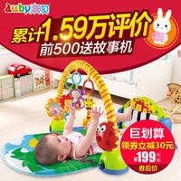 澳贝健身架奥贝带音乐脚踏钢琴早教健身器宝宝婴儿玩具0-3-12个月