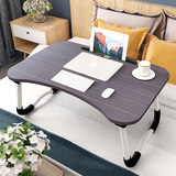 Small table in bed folds laptop lazy people do table student dormitory desk function table