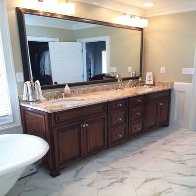 大理石落地式浴室柜