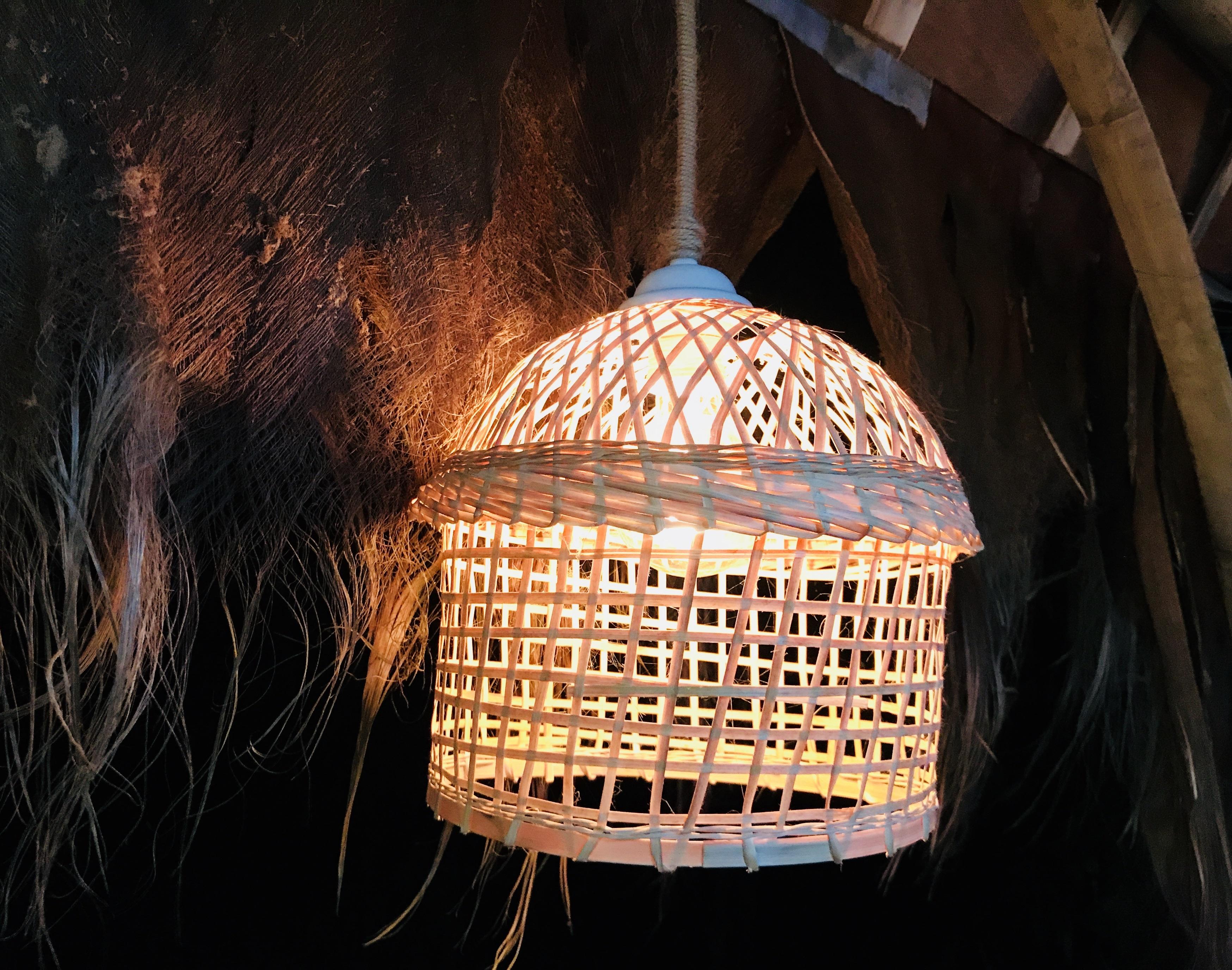 #万象王国#秘境云南  傣家竹编,工艺品,电灯装饰,灯罩,吊灯