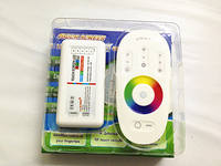 LED colorful RGB/RGBW lamp with module intelligent controller 12V wireless touch remote control RGB dimming 2.4G