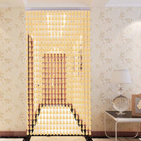 Bead curtain curtain Feng Shui Hulu Acrylic bead curtain anti-mosquito fly curtain partition porch bedroom bathroom curtain