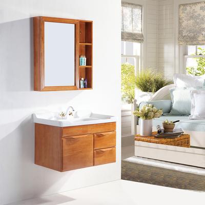 勒丁橡木浴室柜卫浴柜组合洗漱台洗脸盆洁具卫生间柜子吊柜盆架柜