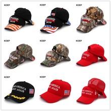 特朗普2020现货棒球帽美国总统大选帽子迷彩现货高质量支持订制图片