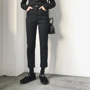 大码 2019年新款 欧货网红成熟气质牛仔裤 早秋款 女装 初秋装 洋气潮流