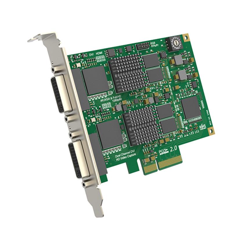 美乐威Pro Capture Dual DVI支持1080P采集2路模拟音频/内嵌音频