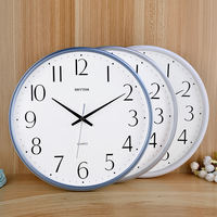 Lisheng clock wall clock living room modern minimalist bedroom light luxury personality creative fashion mute home quartz clock