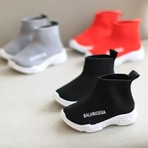 女童运动鞋新款春秋季透气小女孩儿童鞋子女大童旅游秋鞋皮面