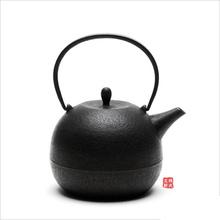 日本代购 南部铁器铁瓶 纯手工小丸铸铁壶烧水壶茶壶 高桥大益作