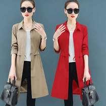 A1W80年新款风衣中长款复古网红磁带开衫2019春季外套女UPRAISE