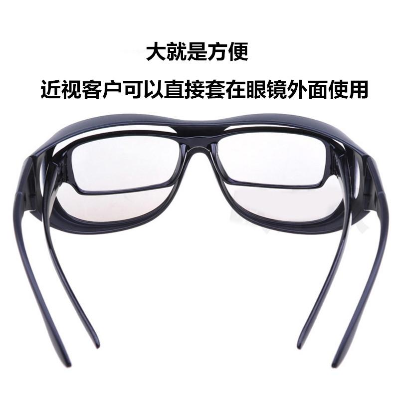 大框3D偏光不闪式立体3d眼镜电影院专用三d眼睛电视通用imax近视