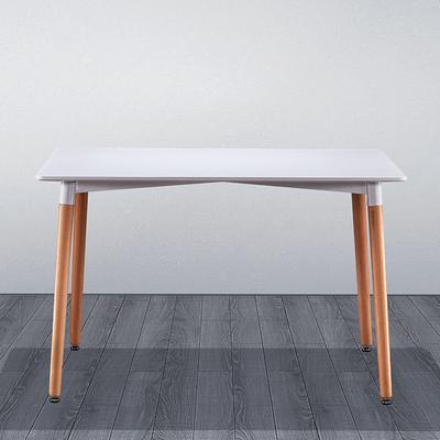 北欧伊姆斯小户型长方形餐桌榉木接待桌家用餐桌会客桌阳台洽谈桌谁买过的说说