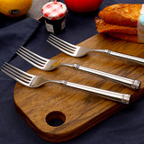 Taiping Bird Home Store Exports US WF Order 304 Stainless Steel Steak Knife and Fork American Court Style