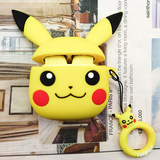Hot silicone inpods12 Bluetooth headset protector dust-proof scratch-resistant wireless headset Pikachu protective cover
