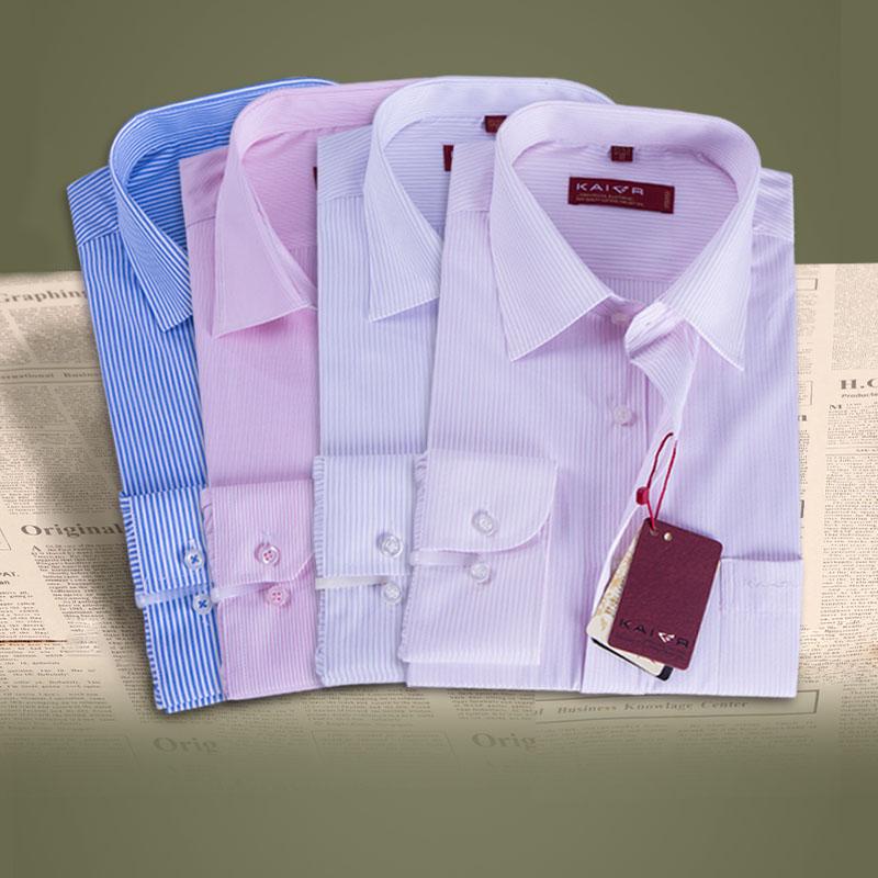 春款粉色男衬衣