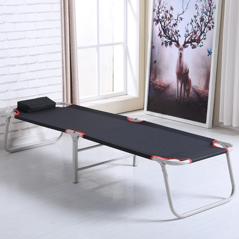 便携式加固折叠床单人午睡床睡椅办公室简易行军午休床简易看护床