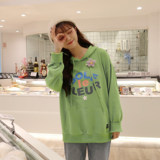 Converse Converse Xiaohua joint hooded sweater female golf wang avocado green vintage hoodie male