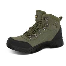 Double Star Hiking Shoes Waterproof and Skid-proof Outdoor Sports Shoes for Men