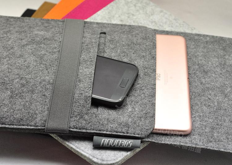 超轻 DELL XPS 13寸 平板电脑保护套 毛毡套 内胆包 袋 多功能袋