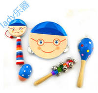 Orff music children's combat set combination instrument oriental love baby parent-child early education toy teaching aid