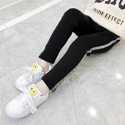 2018新款女童潮秋装洋气女大童女装儿童装时尚中大童韩版打底裤子
