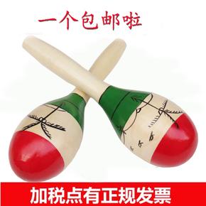 包邮奥尔夫打击乐器椰壳沙球大号椰树沙锤打击乐器专业成人木质