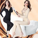 Beauty color after the spring and autumn de-body body body-shaping female post-partum strong effect repair to the belly lift hip beauty body tights