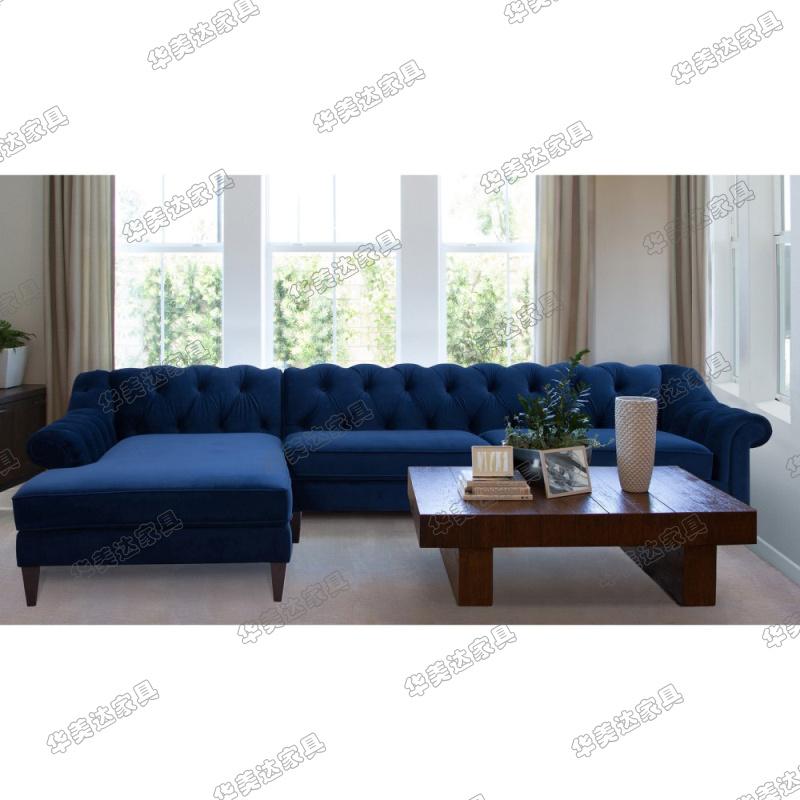 金丝绒沙发