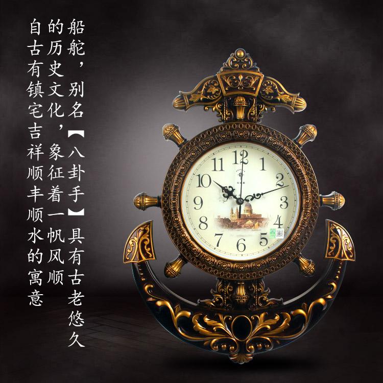 欧式钟表超静音