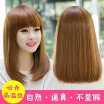 短卷发蓬松自然空气薄刘海卷发韩国网红可爱假发套假发女短发