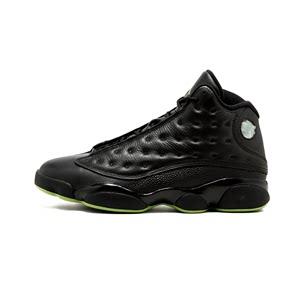 【直营】NIKE耐克进口运动篮球鞋AirJordan乔13黑绿414571042美国