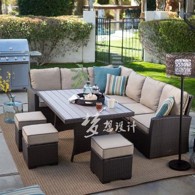 藤沙发组合藤椅沙发最新报价
