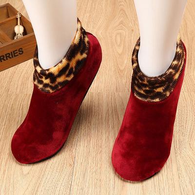 儿童防滑保暖地板袜加绒加厚宝宝袜套早教鞋套男女成人瑜伽袜包邮