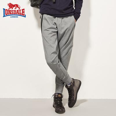 龙狮戴尔/LONSDALE男裤运动裤秋款户外收口卫裤休闲长裤132326747