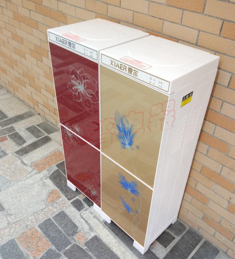 夏尔管线机 立式冷热饮水机 温热直饮机线管机插管式工程用净水机