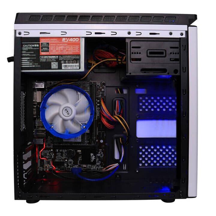520新品英特尔八代G5400120G固态DDR4 4GB内存办公台式机DIY主机
