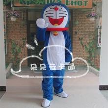 机器猫卡通人偶服装多啦A梦演出服成人行走道具表演玩偶服定制