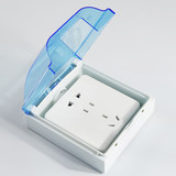 Surface mounted self-adhesive waterproof box 86 type mounted switch socket splash box Paste type surface mounted waterproof cover