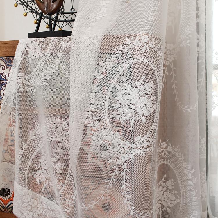 进口美式窗帘