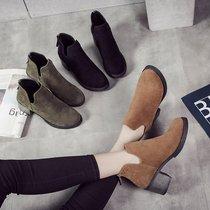 A8594703AA8594702A冬款女短靴2018千百度靴子国内代购专柜正品