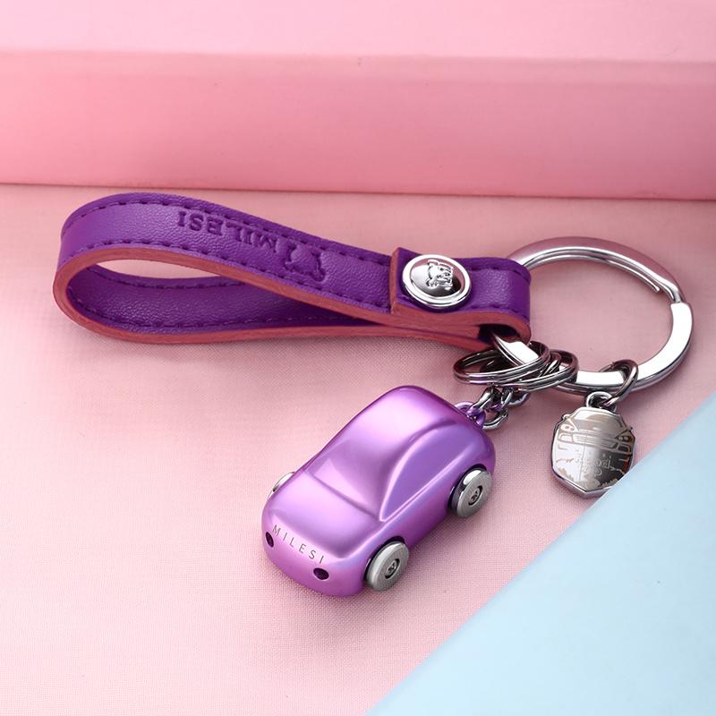 适用于汽车钥匙挂件女可爱宝马丰田奔驰链奥迪大众别克小车钥匙扣