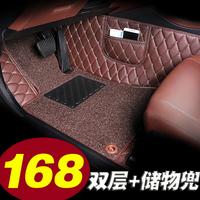 领动脚垫 北京现代领动专车专用全大包围汽车2018款2016精英版18