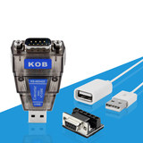 KOB brand USB to RS485 422 USB to 485 converter US chip with signal indicator