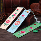 Embroidery hand-embroidered bookmarks Chinese style special gifts to send foreigners Christmas gifts
